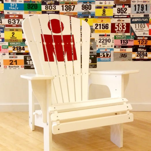 IRONMAN M-Dot Adirondack Chair