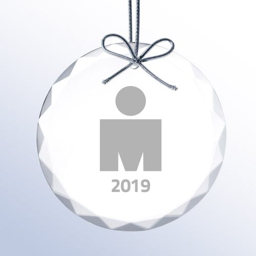 IRONMAN Crystal Ornament