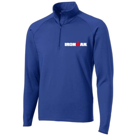 IRONMAN MEN'S SPORT FLEECE HALF ZIP