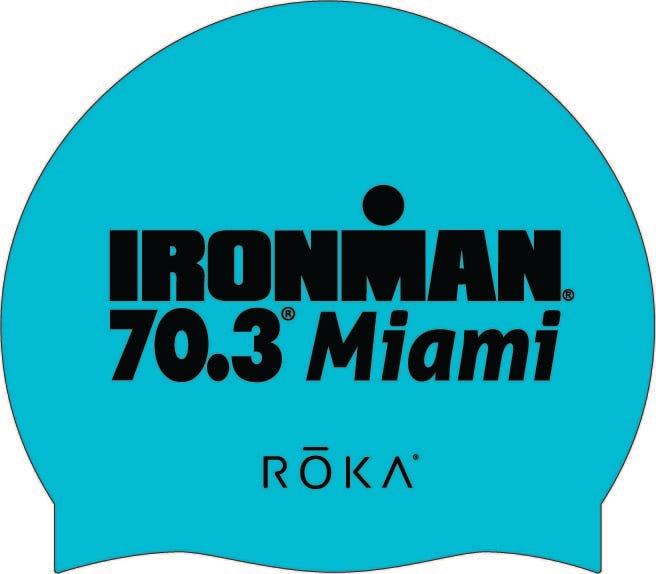 IRONMAN 70.3 Miami Swim Cap 2295e7e2dcdc