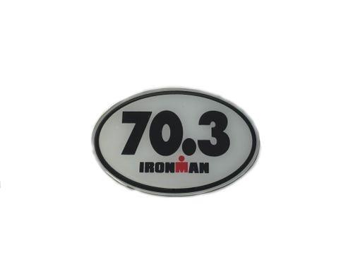 IRONMAN 70.3 Oval Car Emblem
