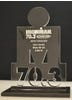IRONMAN 70.3 Finisher Trophy