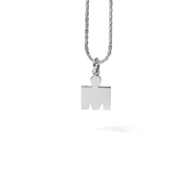IRONMAN True Sterling Silver M-DOT 10.9mm Pendant