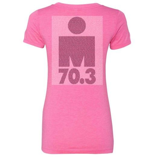 IRONMAN 70.3 ATLANTIC CITY 2019 WOMEN'S V-NECK NAME TEE