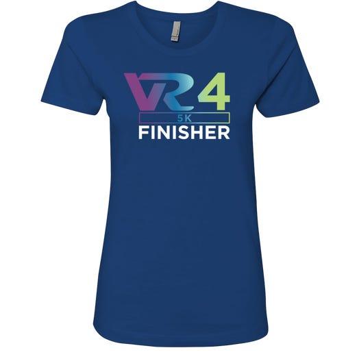 Rock n Roll Running Series Women's VR4 5k Finisher Graphic Tee