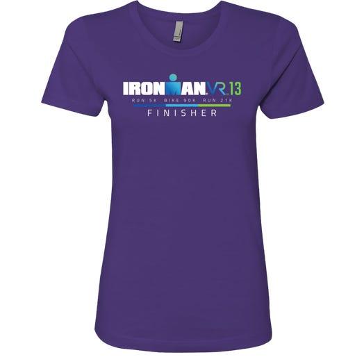 IRONMAN Women's VR13 Finisher Graphic Tee