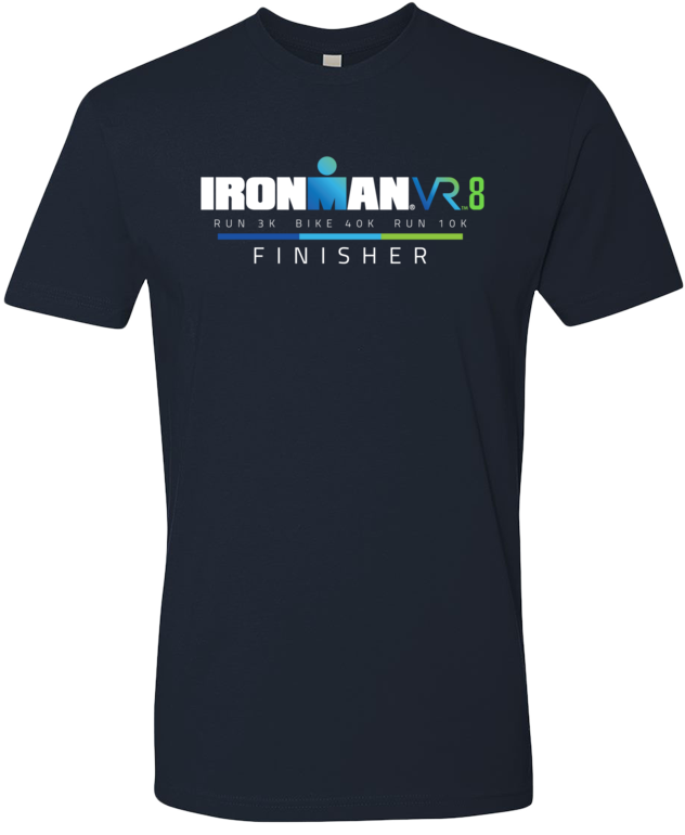 IRONMAN Men's VR8 Finisher Graphic Tee