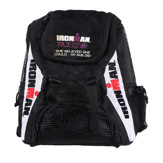 IRONMAN Custom Embroidered Backpack with Event Logo
