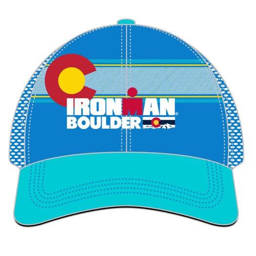 IRONMAN BOULDER EVENT TRUCKER - BLUE