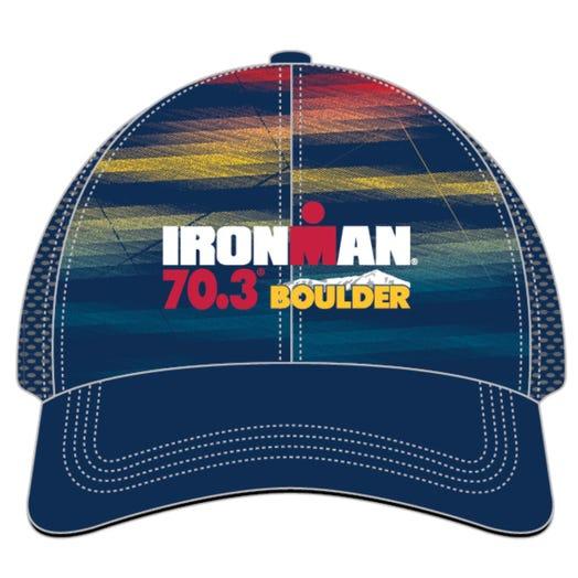 IRONMAN 70.3 BOULDER EVENT TRUCKER HAT