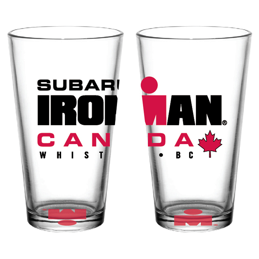 IRONMAN CANADA EVENT PINT GLASS
