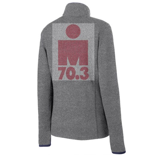 IRONMAN 70.3 CANADA 2019 WOMEN'S FULL ZIP NAME FLEECE