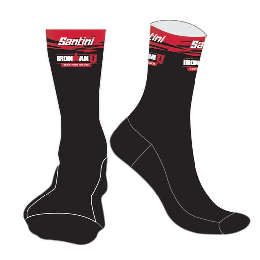 IRONMAN CERTIFIED COACH UNISEX CYCLE SOCK