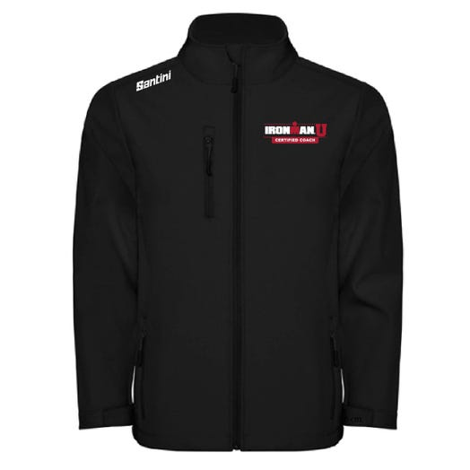 IRONMAN CERTIFIED COACH MEN'S SOFTSHELL JACKET