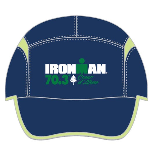 IRONMAN COEUR D'ALENE EVENT TECH HAT - NAVY