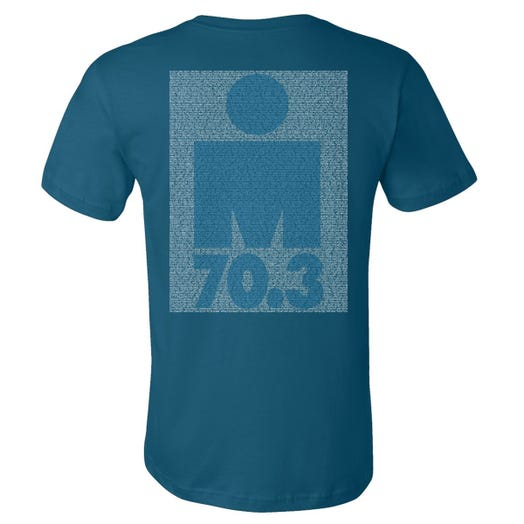 IRONMAN 70.3 COEUR D'ALENE 2019 MEN'S NAME TEE