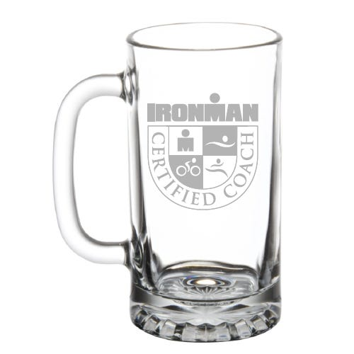 IRONMAN Custom Certified Coach Beer Mug