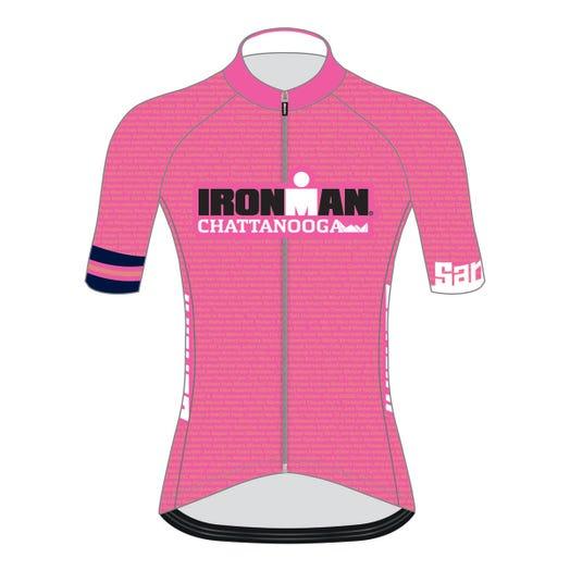 IRONMAN CHATTANOOGA 2019 WOMEN'S NAME CYCLE JERSEY
