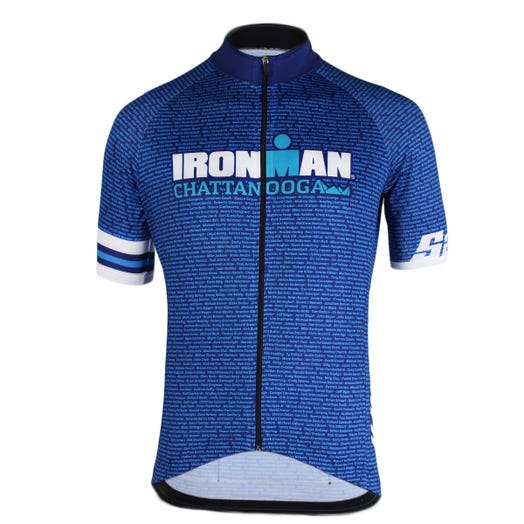 IRONMAN CHATTANOOGA 2019 MEN'S NAME CYCLE JERSEY