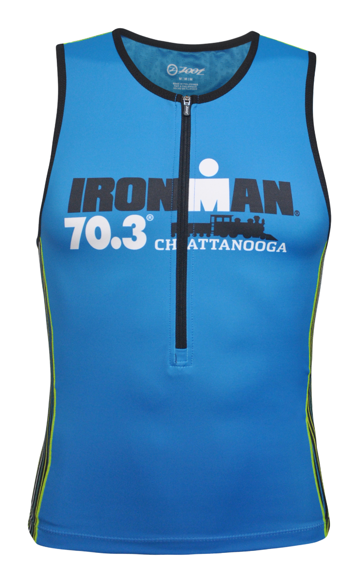 IRONMAN 70.3 CHATTANOOGA MEN'S TRI TOP