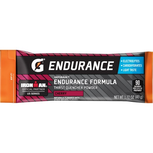 Gatorade Endurance Formula Cherry Single Serve Powder (12 single serve powder sticks)