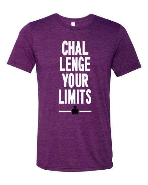 IRONMAN Men's Challenge Your Limits Tee - Maroon
