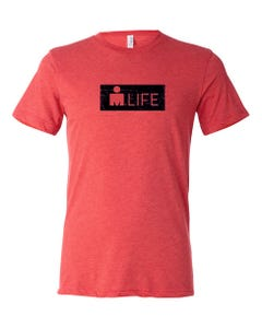 IRONMAN Men's MDOT Life Tee - Red