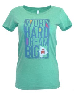 IRONMAN Women's Dream Big Tee - Green
