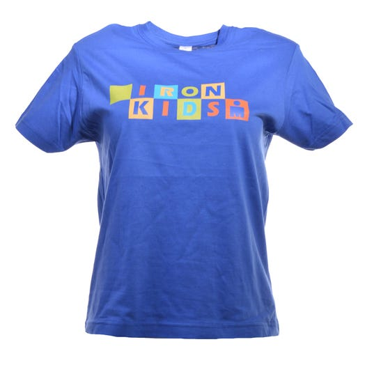 IRONKIDS Rainbow Kids' Tee - Blue