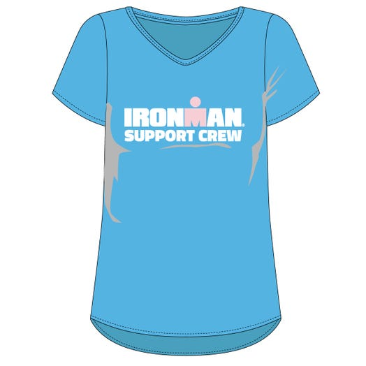IRONMAN WOMEN'S SUPPORT CREW TEE