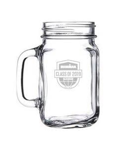 IRONMAN Class Of Customized Mason Jar