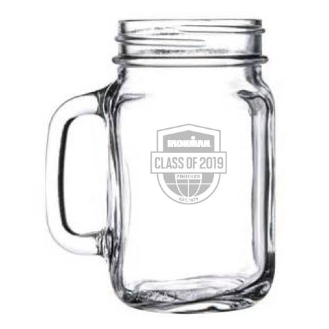 IRONMAN Class Of Customized Mason Jar