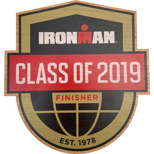 IRONMAN Class Of Customized Wood Wall Plaque