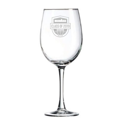 IRONMAN Class Of Customized Wine Glass
