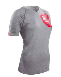 IRONMAN COMPRESSPORT Women's Training Tee - Grey