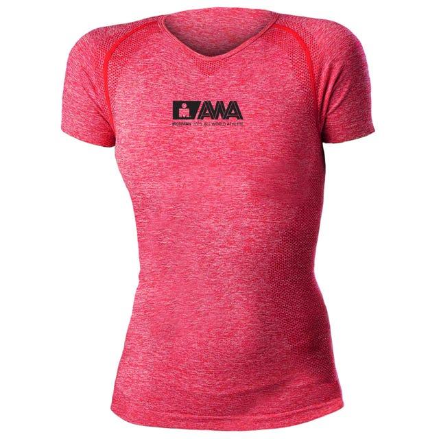 IRONMAN Women's All World Athlete Tech Tee - Pink
