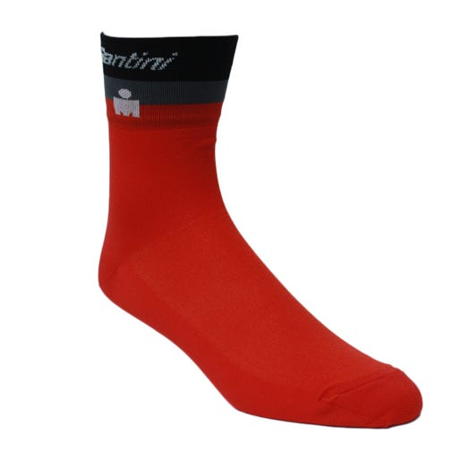 IRONMAN SANTINI MEN'S CYCLING SOCKS