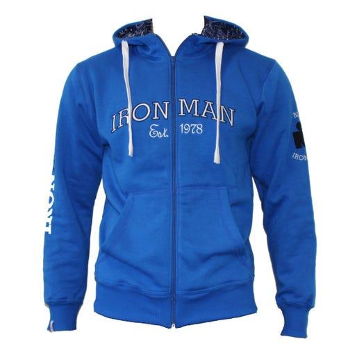 IRONMAN Vintage Men's Full Zip Jacket - Blue/Navy