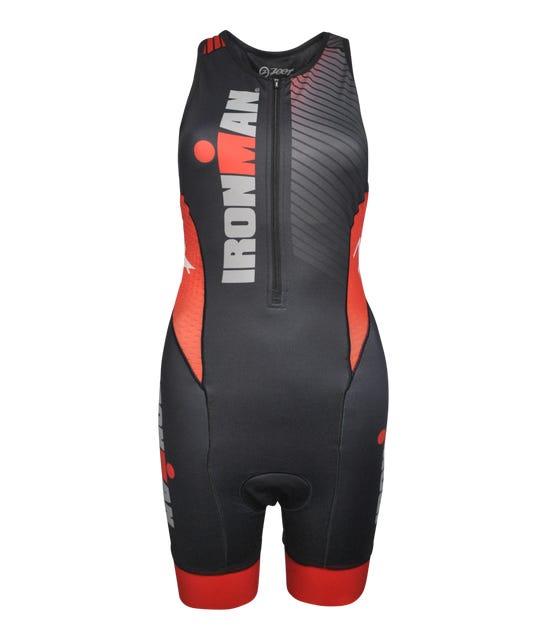 IRONMAN Zoot Women's Racesuit - Black/Red