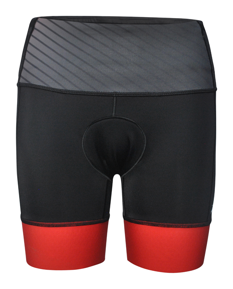 IRONMAN Zoot Women's Tri Short - Black/Red