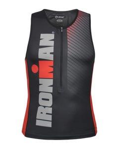 IRONMAN Zoot Men's Tri Top - Race Stripe Black