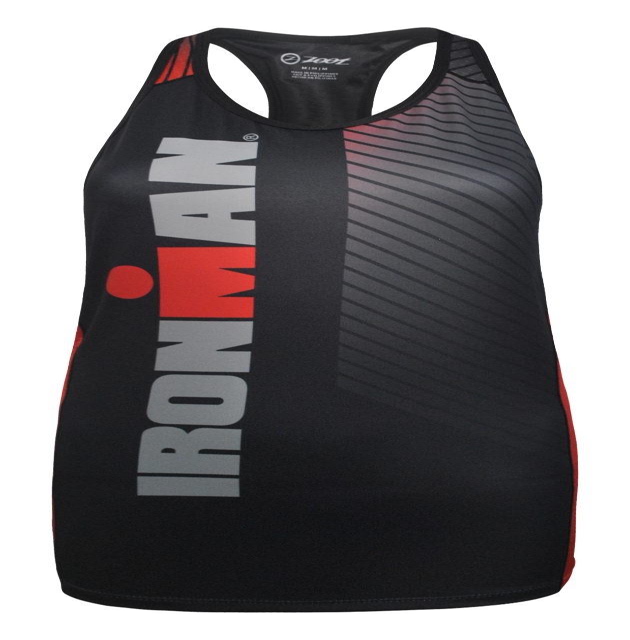 IRONMAN Zoot Women's Tri Top - Black/Red