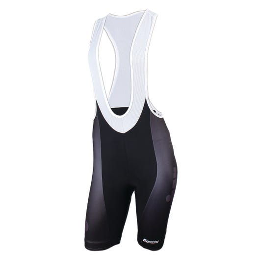 IRONMAN SANTINI WOMEN'S MUTED CYCLE BIB SHORT