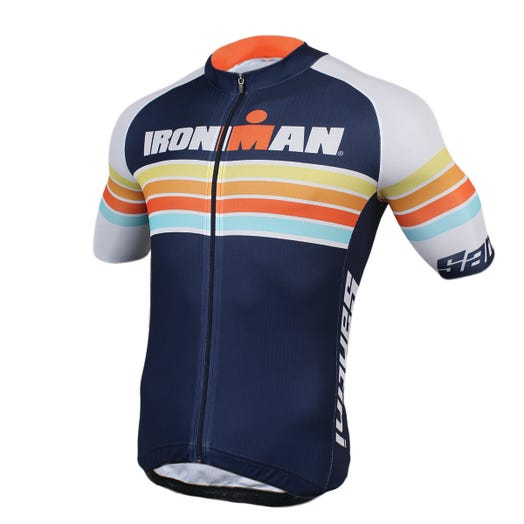 IRONMAN SANTINI MEN'S SUNSET CYCLE JERSEY