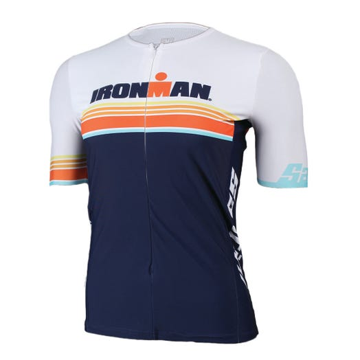 IRONMAN SANTINI WOMEN'S SUNSET SHORT SLEEVE TRI TOP