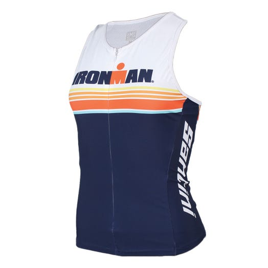 IRONMAN SANTINI WOMEN'S SUNSET TRI TOP