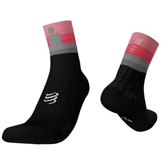 IRONMAN COMPRESSPORT PRO RACING SOCKS - RUN HIGH