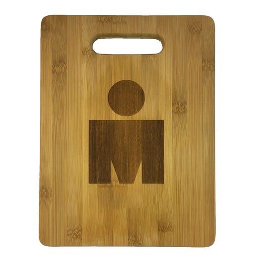 IRONMAN M-Dot Cutting Board