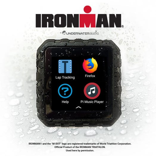 IRONMAN by Underwater Audio Delphin Waterproof Streaming Media Player