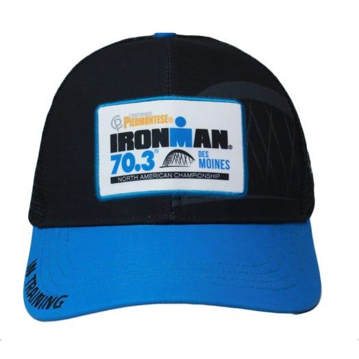 IRONMAN 70.3 DES MOINES IN TRAINING TRUCKER HAT - PRE-ORDER